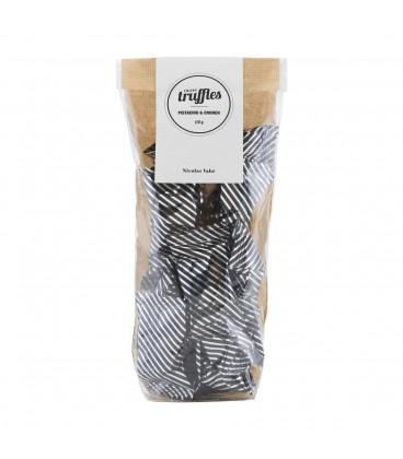 Trufas de Pistacho y chocolate NICOLAS VAHÉ