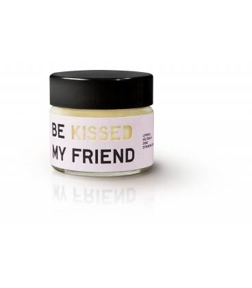 Be [...] my friend Kissed. Labial