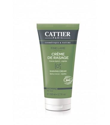 Crema de afeitado Biológica Fine Lame de Cattier