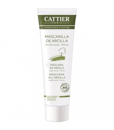 Cattier Mascarilla de arcilla verde pieles grasas 100 ml