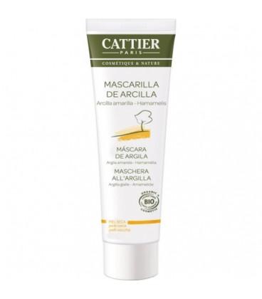 Cattier Mascarilla de arcilla amarilla piel seca 100 ml