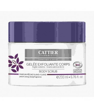 Cattier gel Exfoliante Corporal arcilla púrpura 200ml