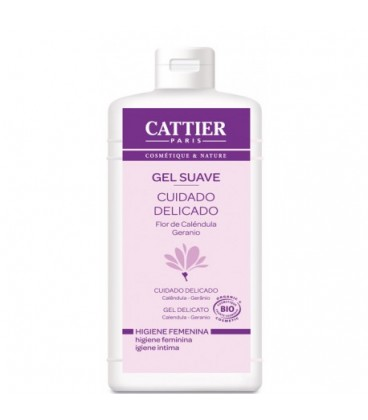 Cattier gel suave delicado de higiene íntima 200 ml