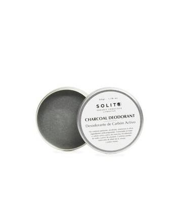 Solito Desodorante Sólido De Carbón Activo 50g