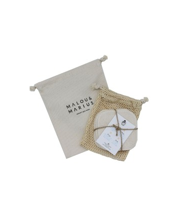Malou & Marius Kit 5 Discos Desmaquillantes de Algodón Orgánico