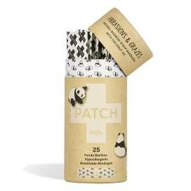 Tiritas Biodegradables Panda Niños Con Aceite De Coco Y Bambú 25 Unidades