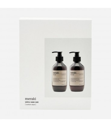 Meraki Giftbox Northern Dawn Jabón 275ml + Loción de Manos 275ml