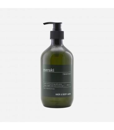 Meraki Hair & Body Wash Harvest Moon Organic Aloe Vera and Olive Leaf 490 ml