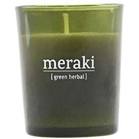 Meraki Vela Grande Green Herbal 35 Horas de Duración
