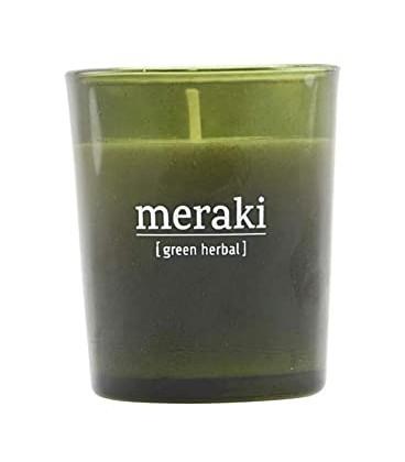 Meraki Vela Grande Green Herbal 35 Horas de Duración