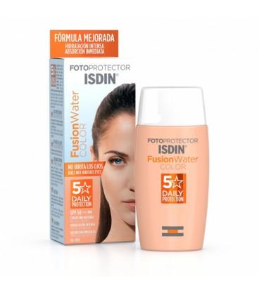 Fotoprotector Facial Isdin SPF 50 Fusión Water Color 50 ml