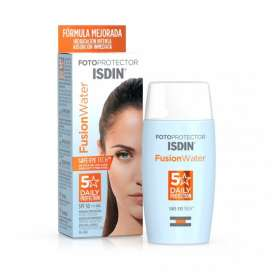 Fotoprotector Facial Isdin SPF 50 Fusion Water 50ml
