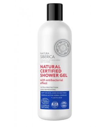 Natura Sibérica Shower Gel Con Efecto Antibacteriano 400m