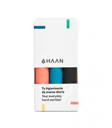 Haan By Beter Higienizante de Manos Pack de 3 unidades Negro, Azul, Coral