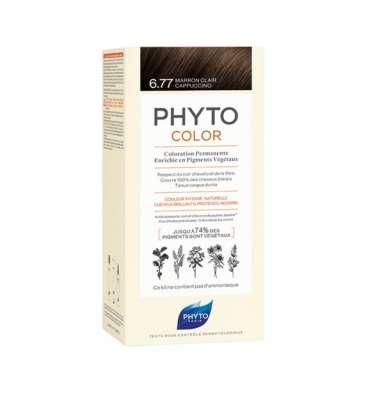 Phytocolor Tinte 6.77 Marrón Capuchino