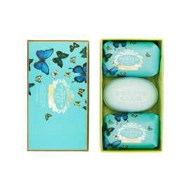 Castelbel caja de tres jabones mariposas