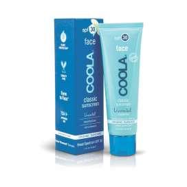 Coola: Face SPF 30 Unscented Organic Sunscreen (Crema solar facial hidratante)