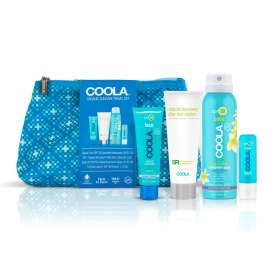 Coola: Organic Suncare Travel Set (Kit de Viaje productos solares)