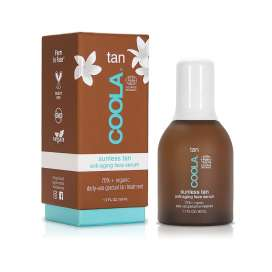 Coola: Sunless Tan Anti-aging Face Serum (Autobronceador anti-edad)
