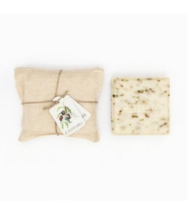 Jabón de hojas de olivo